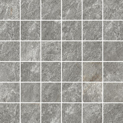 Quarzi Grey | Mosaico | Mosaïques céramique | Rondine