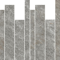 Quarzi Grey | Muretto | Ceramic tiles | Rondine