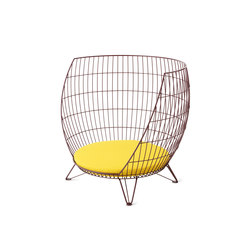Basket armchair / Big | Sessel | nola