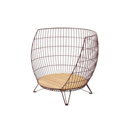 Basket armchair / Big | Poltrone | nola
