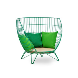 Basket armchair / Small | Armchairs | nola