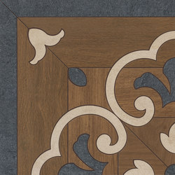 Prestige | Brown Ros.Ang.46 | Carrelage céramique | Marca Corona