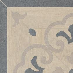 Prestige | White Ros.Ang.46 | Baldosas de cerámica | Marca Corona