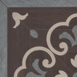 Prestige | Wenge Ros.Ang.46 | Piastrelle ceramica | Marca Corona