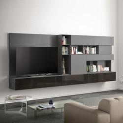 People | composition | Wall storage systems | Pianca