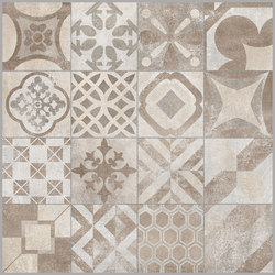 Volcano Beige | Cementine Decoro Rettificato | Floor tiles | Rondine