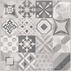 Volcano Grey | Cementine Decoro Rettificato | Ceramic tiles | Rondine