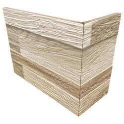 Wall Art Sand | Angolo Esterno Incollato | Ceramic tiles | Rondine