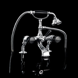 Black Morris Bath and shower mixer | Bath taps | Devon&Devon