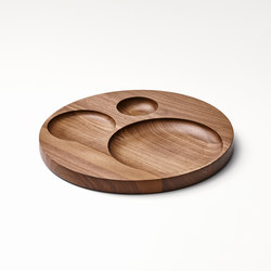 Moln Tray Big American Walnut | Bandejas | tre product