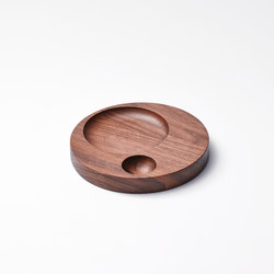 Moln Tray Small American Walnut | Bandejas | tre product