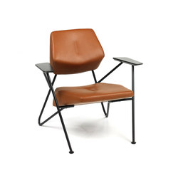 Polygon easy chair leather | Armchairs | Prostoria