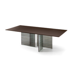 BIG WAVE table | Dining tables | Fiam Italia