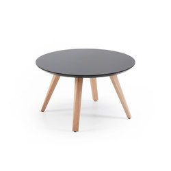 Oblique low table Φ70 | Coffee tables | Prostoria
