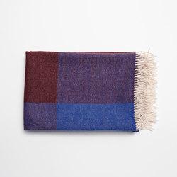 Blend Throw Blue/White | Plaids | tre product