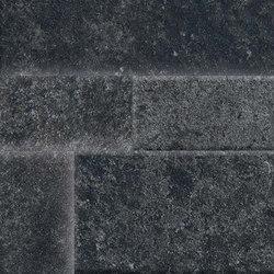 Springstone | Black Muretto 3D | Baldosas de cerámica | Marca Corona