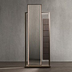 Continuum Mirror | dumb waiter | Mirrors | Flou