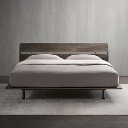 Tadao Double-size bed | Beds | Flou