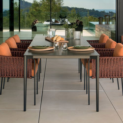 Nude rectangular dining table | Dining tables | Expormim