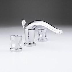 Bagatelle | Rim mounted 3-hole basin mixer | Wash basin taps | THG Paris