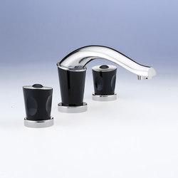 Bagatelle | Mélangeur de lavabo 3 trous | Wash basin taps | THG