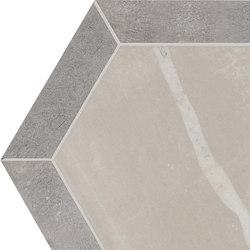 Stoneone | Grey Esagono | Ceramic tiles | Marca Corona