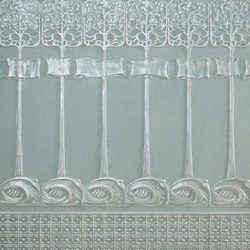 Art Nouveau Dado | Drapery fabrics | Lincrusta