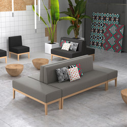 Baker | Modular seating elements | Missana