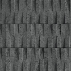 Street | Dark Brick 3D | Ceramic tiles | Marca Corona