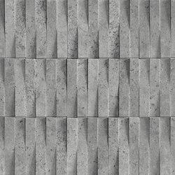 Street | Silver Brick 3D | Ceramic tiles | Marca Corona