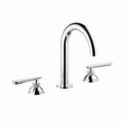 Dean | Rim mounted 3-hole basin mixer | Wash basin taps | THG Paris