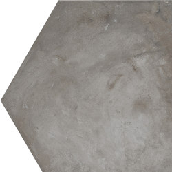 Terra | Antracite Esagona | Ceramic tiles | Marca Corona
