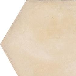 Terra | Avorio Esagona | Piastrelle ceramica | Marca Corona
