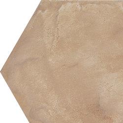 Terra | Ocra Esagona | Piastrelle ceramica | Marca Corona