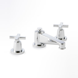 Spirit | Rim mounted 3-hole basin mixer | Wash basin taps | THG Paris