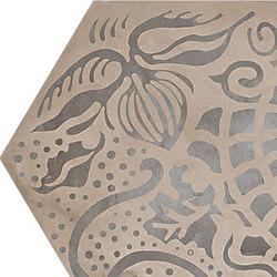 Terra | Floreale Vers.F | Piastrelle ceramica | Marca Corona