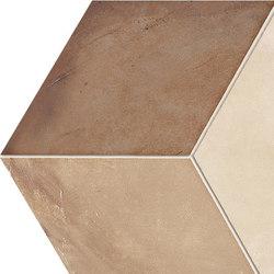 Terra | Rombo Vers.C | Piastrelle ceramica | Marca Corona