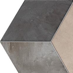 Terra | Rombo Vers.F | Ceramic tiles | Marca Corona