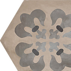 Terra | Giglio Esa Ver.F | Piastrelle ceramica | Marca Corona