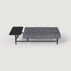 X Ray ottoman table | Pouf | La Chance