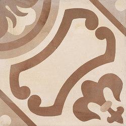 Terra | Giglio Vers.C | Piastrelle ceramica | Marca Corona