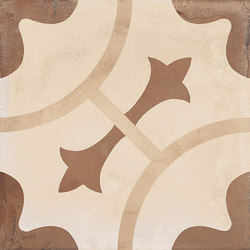 Terra | Ornamento Vers.C | Carrelage céramique | Marca Corona
