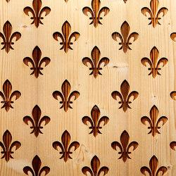 Lilie Negativ | Wood panels | strasserthun.