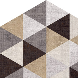 Textile | Triangle.Mix Esa | Ceramic tiles | Marca Corona