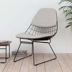 Wire lounge chair FM05 | Armchairs | Pastoe