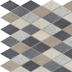 Textile Extra | Rhomb Mix Tessere | Baldosas de cerámica | Marca Corona