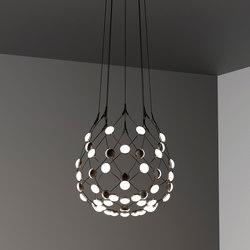 Mesh | Ø 55cm | Suspended lights | LUCEPLAN