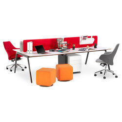 Office A System | Table dividers | B&T Design