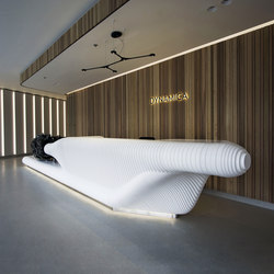 Dynamica reception desk | Theken | AMOS DESIGN