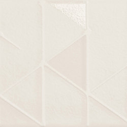 Tone | White Geometric | Ceramic tiles | Marca Corona